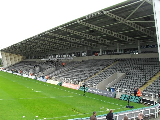 Glasses Frames Kingston Park Newcastle : The Rugby Ground Guide - Kingston Park (Newcastle Falcons)