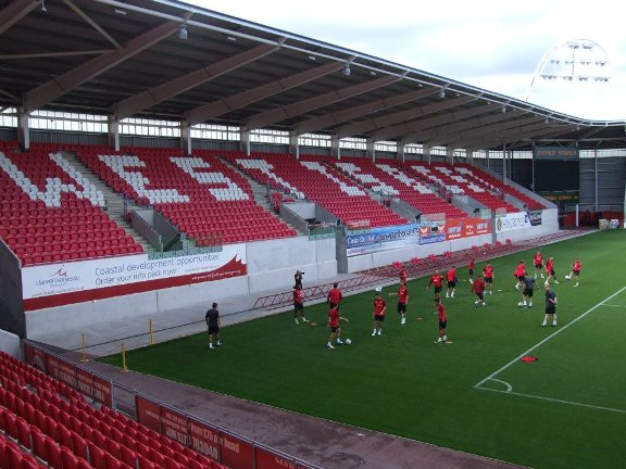 The Rugby Ground Guide Parc Y Scarlets Llanelli Scarlets